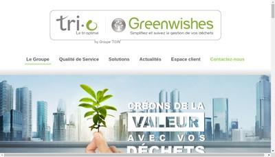 Site internet de Greenwishes