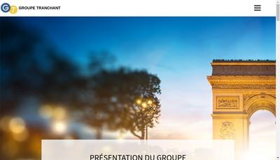 Site internet de Casinos Conseil & Service