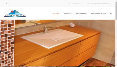 Site internet de Groupex