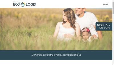 Site internet de Group France Eco-Logis