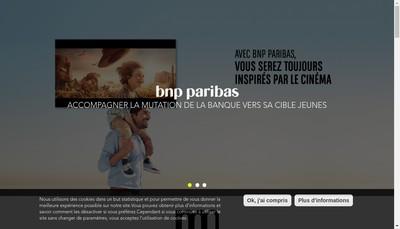Site internet de Mutant Paris