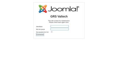 Site internet de Grs Valtech