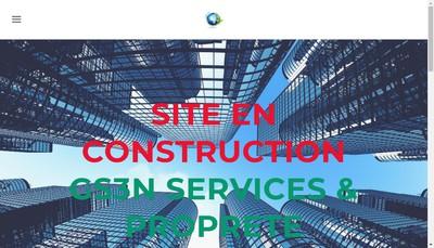 Site internet de Gs3N Services & Proprete