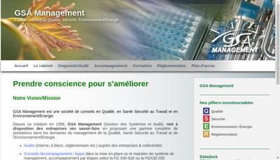 Site internet de Gsa Management