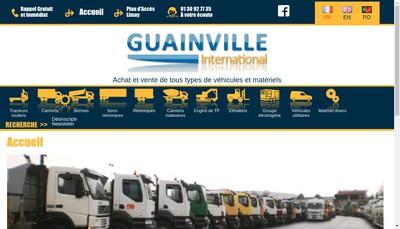 Site internet de Guainville International
