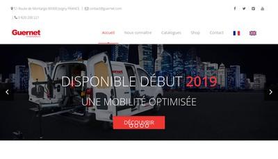 Site internet de Guernet Compresseurs