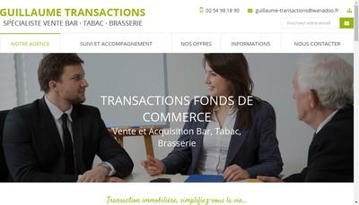 Site internet de Guillaume Transactions