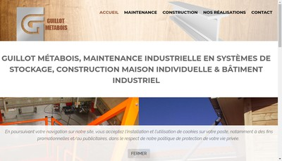 Site internet de Guillot Metabois
