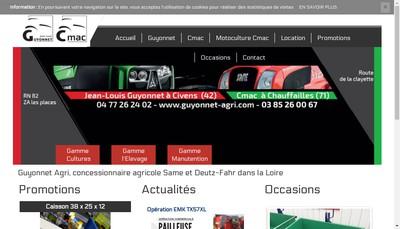 Site internet de Cmac