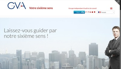 Site internet de Gva Euraudit