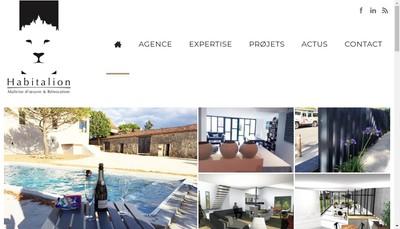 Site internet de Habitalion