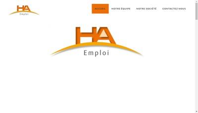 Site internet de Ha Emploi