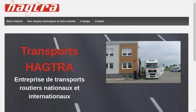 Site internet de Hagtra Haguenau Transports