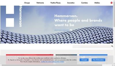 Site internet de Hammerson Asset Management