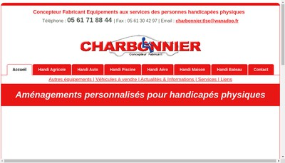 Site internet de Handicap France