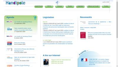 Site internet de Practhis