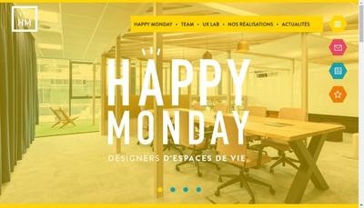 Site internet de Happy Monday-Arch'Office-Spark-Mobilier-Stock Com