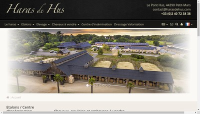 Site internet de Haras de Hus