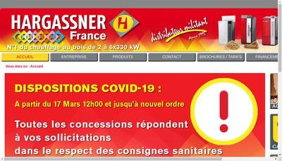 Site internet de Hargassner France