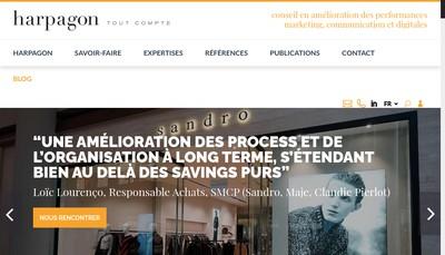 Site internet de Harpagon France