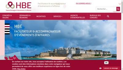 Site internet de Haute Bretagne Evenements