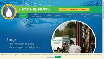 Site internet de Societe Helbert