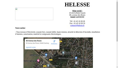 Site internet de Helesse