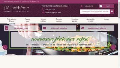 Site internet de Heliantheme