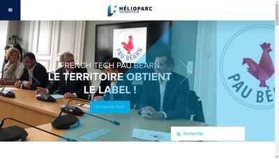 Site internet de Helioparc