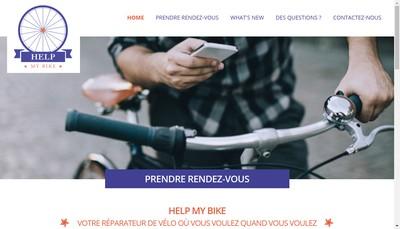 Site internet de Help My Bike