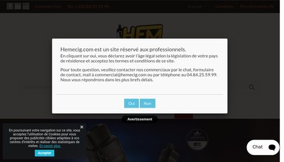 Site internet de Groupe Eh