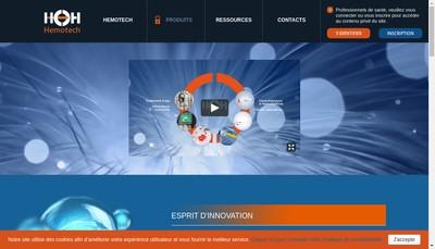 Site internet de Hemotech