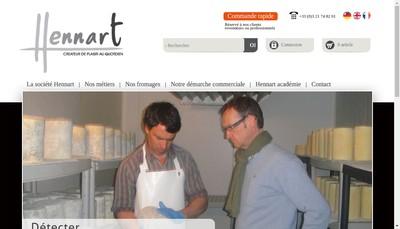 Site internet de Hennart Freres