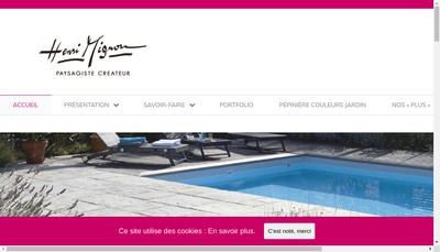 Site internet de Societe Henri Mignon