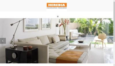 Site internet de Heredia