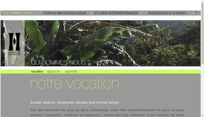 Site internet de Cabinet Herzog