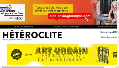 Site internet de Heteroclite