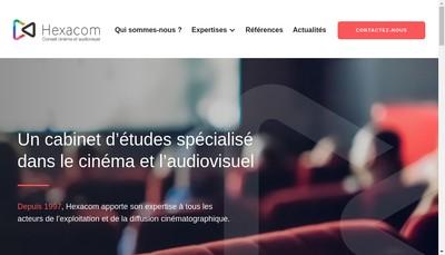 Site internet de Hexacom