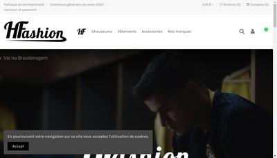 Site internet de H Fashion