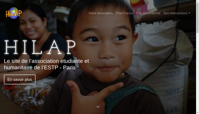 Site internet de Hilap