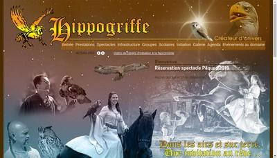 Site internet de L'Hippogriffe