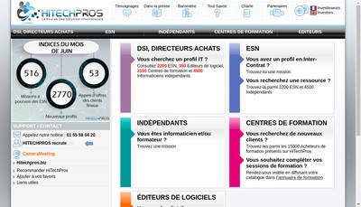 Site internet de Hitechpros