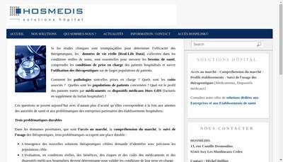 Site internet de Hosmedis