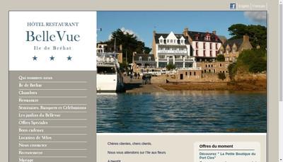 Site internet de Hotel Bellevue