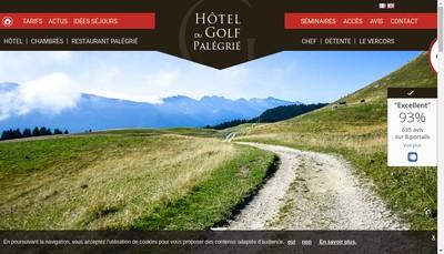 Site internet de SARL Hotel du Golf