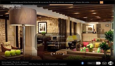 Site internet de AAA Hotel Duquesne Eiffel
