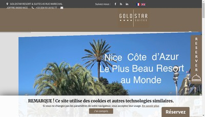 Site internet de All Suites Nice Carre d'Or