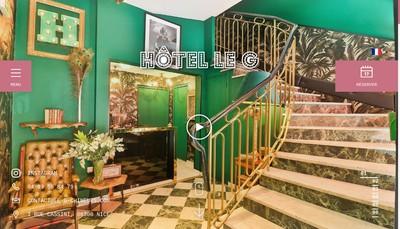 Site internet de Hotel le Geneve