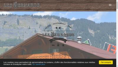Site internet de Les Bernards