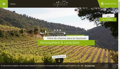 Site internet de Les Florets